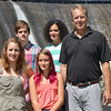 The Shenk Family, of Westminster. From left are Abigail, 16, Erin, 11, Adam, 14, and mom and dad Jen and Jay. SENTINEL & ENTERPRISE / Ashley Green