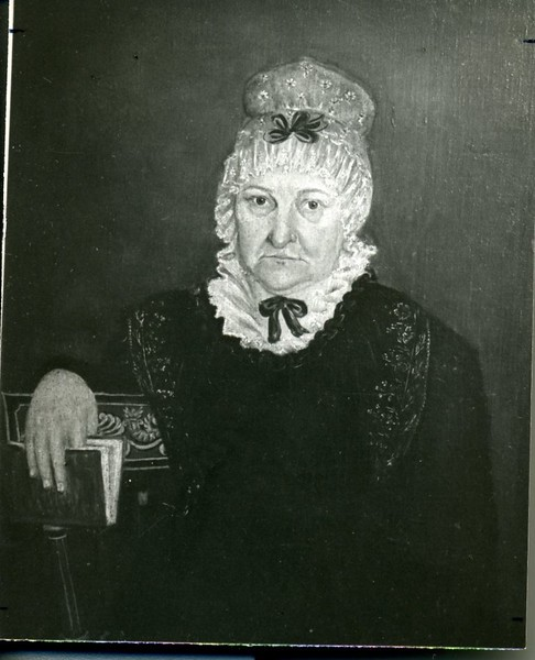 Portrait of Wilhelmina Jordan Wayatt, 1750-1890 (?)  (4149)