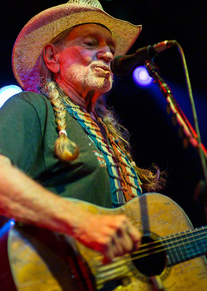 Willie Nelson in Concert