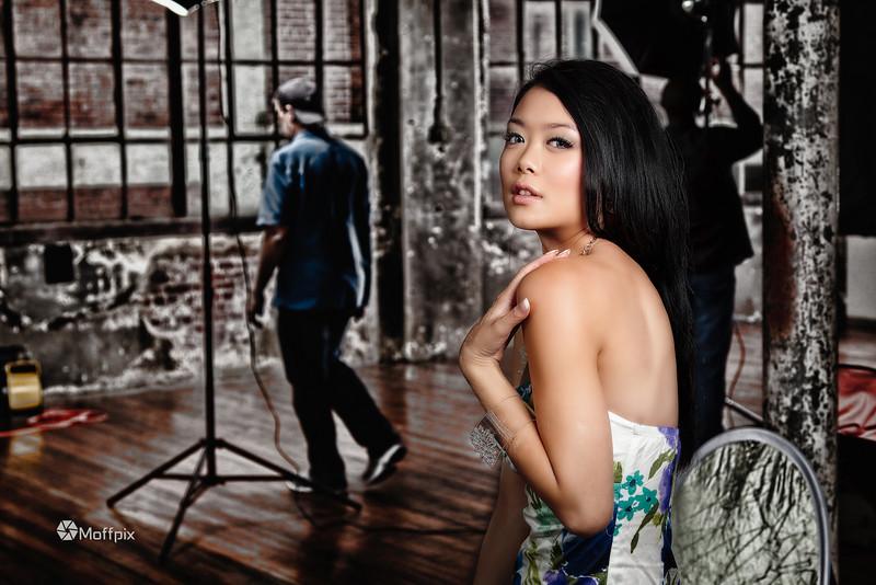 Model: Evan Chen<br /> Hair: Candice Kennedy<br /> MUA: Jen B.<br /> Guy in background: Tom Foley :)