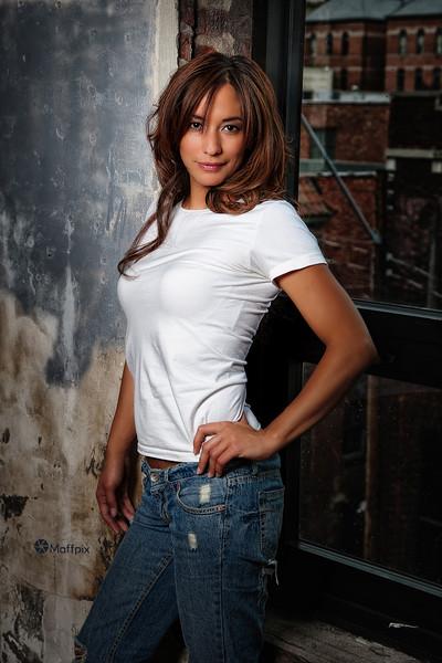Model: Rebecca Richmond<br /> Hair: Stefanie Fenton<br /> MUA: Jodine Romano