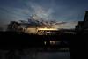 Rail Bridge at Sunset