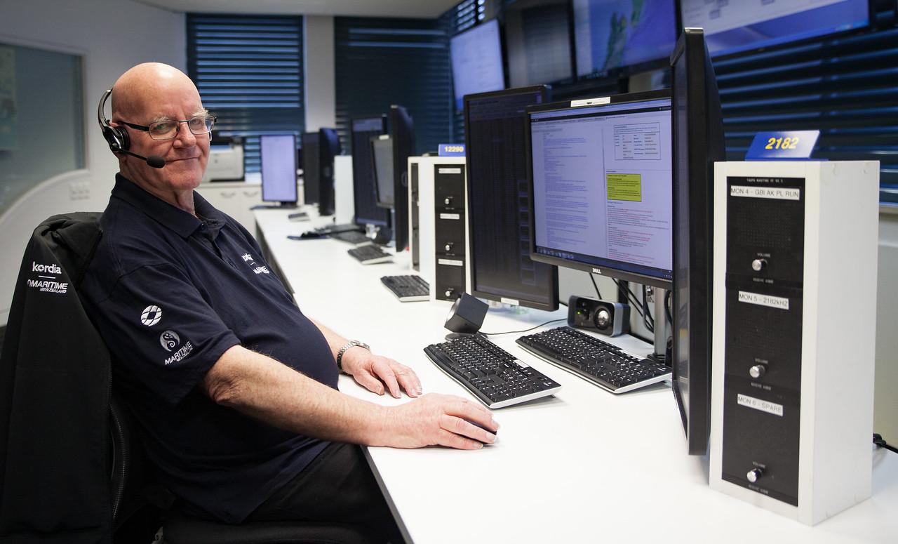 Peter Baird Maritime Operations Centre Nov 2017