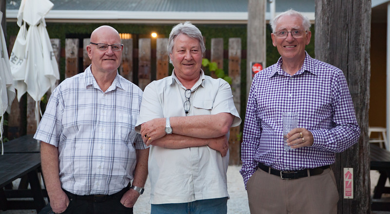 Peter, Allan, Graham, Retirement Function Nov 2017