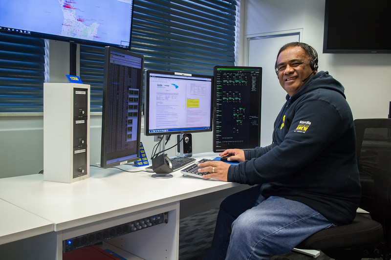 Aisea Marine Radio Operator from Nukualofa Radio, Tonga who visited Taupo Maritime Radio/Maritime Operations New Zealand for several months in 2017