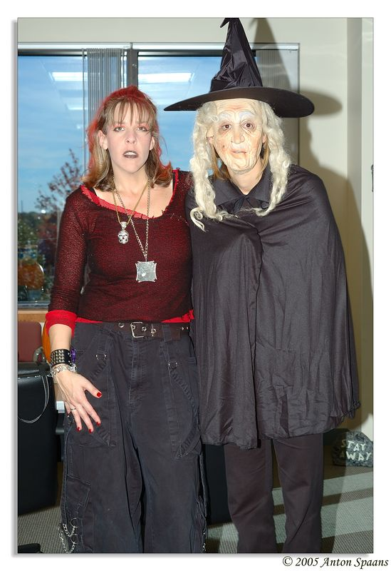 Two Witches of SmartWick<br /> (Mandy and Elena).