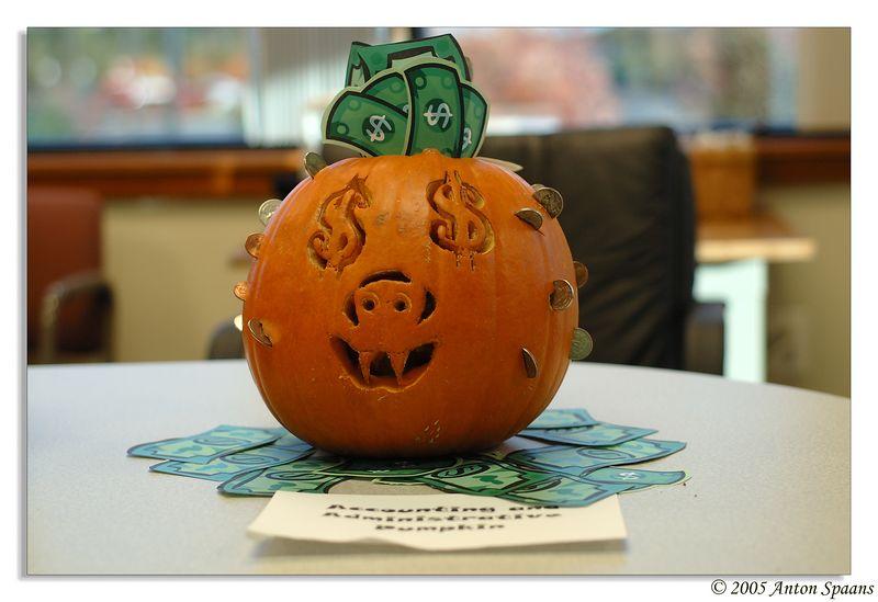 Pumpkin from Admin/Finance