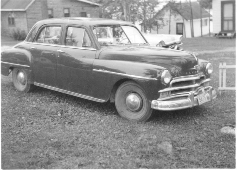 1950 Plymouth at Roberts Lodge