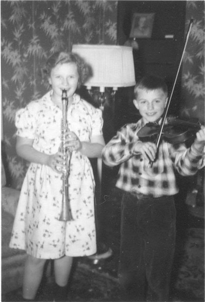 Christmas about 1955