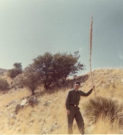 Fort Huachuca - hiking on Huachuca Mountain, 1969