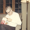 Home for Christmas from army basic 1968, opening Arvin transistor radio