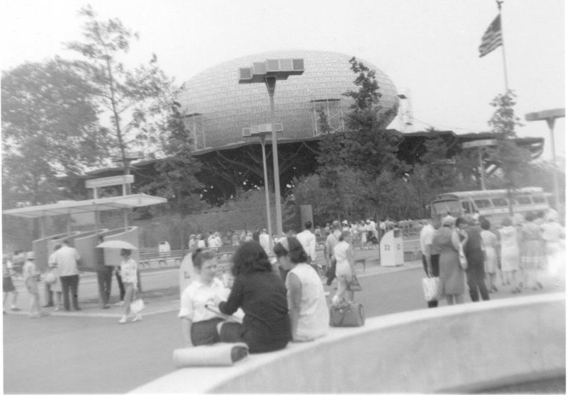 IBM egg at NY Worlds Fair 1964