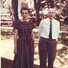 Doris Williams, William Henry Williams.  1960 buick in background