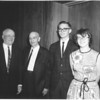 1966 - Rowe, Will, Bob, Pat at Rowe's 40th anniversary with NSP (Northern States Power Company)