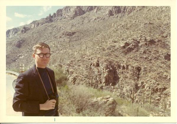 Road up Mount Lemmon near Tucson.