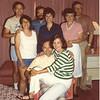 Bob & Jeanette, Dick & Adrienne Donze, Dennis & Fran Cox, Bert & Jake Sanders - Caesar's Palace 1981