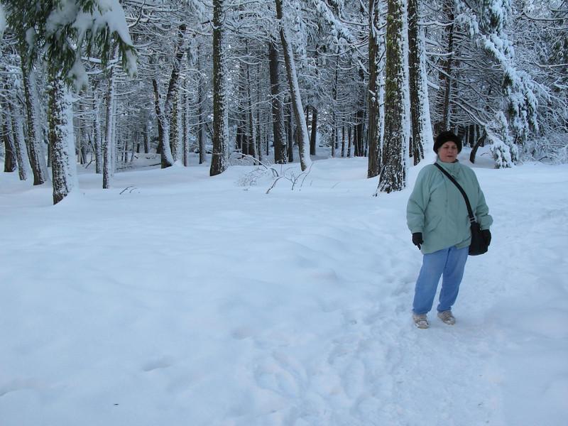 Jeanette at Yosemite Dec 26, 2008