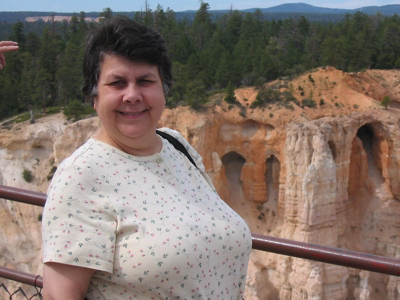 Jeanette at Bryce Canyon