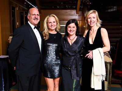 "Photo by Tony Powell. Dave and Jamie Dorros, Judy Bishop, Elizabeth Dougherty. Starlight ""Bedtime Bash"". Four Seasons Hotel. November 20 2010"