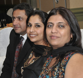 Nayeem, his wife, and Sharma