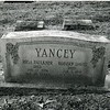 Headstone of Robert Davis and Rosa Faulkner Yancey (6017)