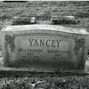 Headstone of Robert Davis and Rosa Faulkner Yancey (4166)