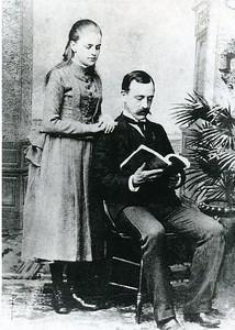 Marriage photo of Rosa and Robert Davis Yancey (4159)
