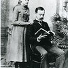 Marriage photo of Rosa and Robert Davis Yancey (4159)