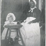 ?Aunt? Nancy with one of the Yancey children (4160)