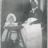 """Aunt"" Nancy with one of the Yancey children (4160)"