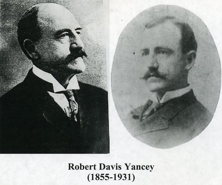 Robert Davis Yancey, 1855-1931 (4156)