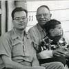 William Joel Tudor Yancey with son Joel Alexander Yancey and grandson William F. Yancey (6020)