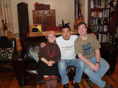 Sophia, Yasushi and me