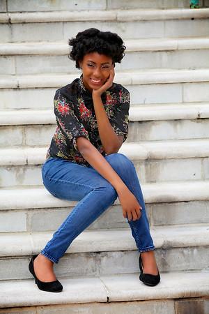 Ybor City Senior Portraits, Tampa, FL: Courtney