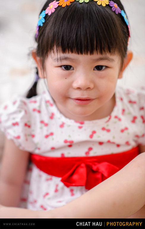 Toddler Portrait by Chiat Hau Photography (Yee Xian - Her 3 Years Old)