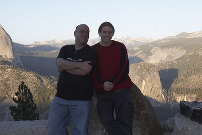 Terry & Ian @ Glacier point.