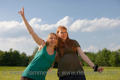 Two happy Young Women having Fun – Germany, Europe