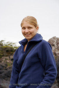 Happy Young Woman – Long Beach, Pacific Rim National Park, Vancouver Island, British Columbia, Canada