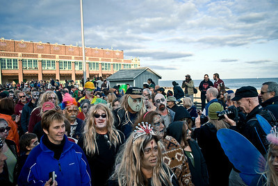 The 4th Annual Zombie Walk, (The Undead Festival). Photos from Oct 22 2011, Asbury Park, NJ.