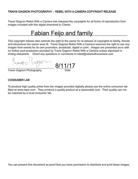 Feijo Copyright release