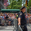 NYPD at Pride Parade, Fifth Avenue