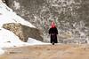 Tibetan road sweeper