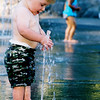 Boy and Fountain.