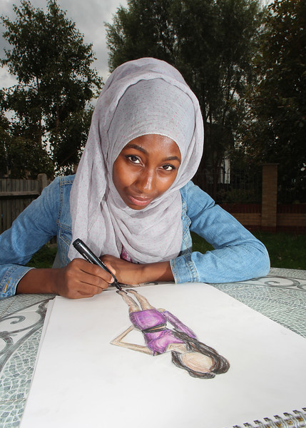 15 year-old designer Ejatu Shaw