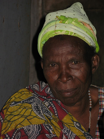 Old woman in Kanungu, Uganda, 2008