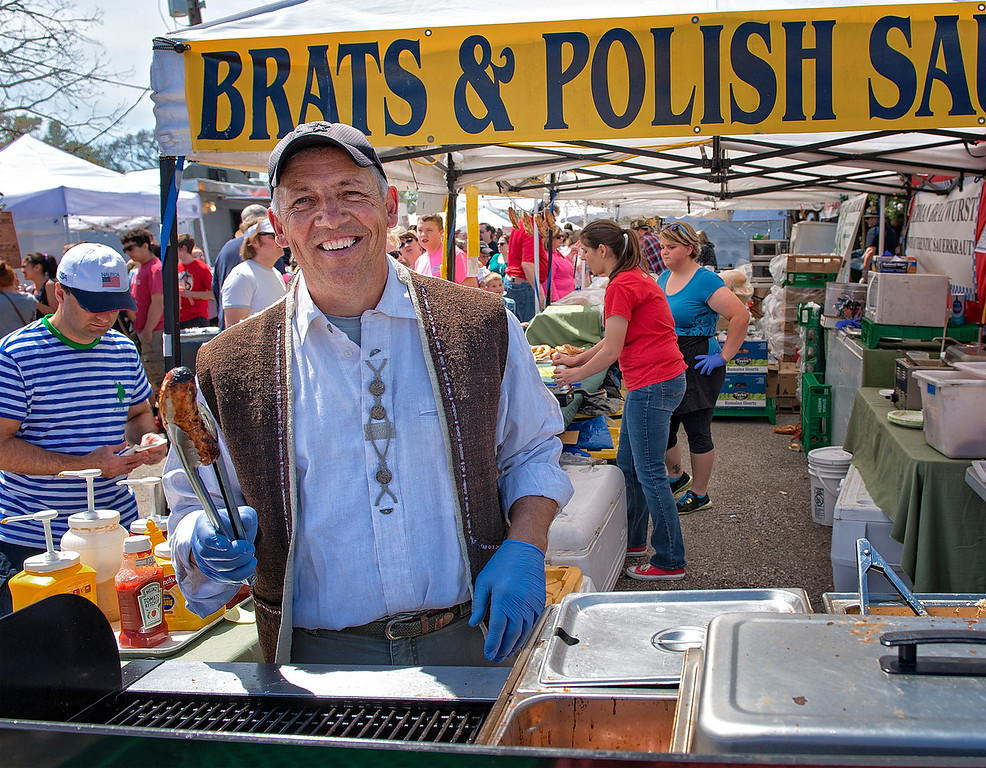 Selling Brats and Polish
