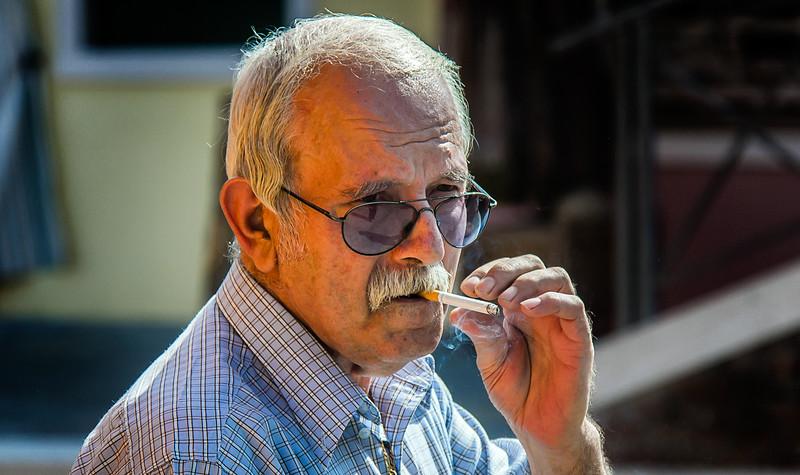 An Italian Cigarette