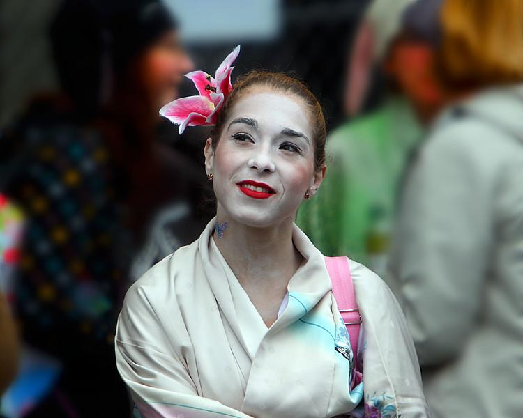 Geisha, sort of.
