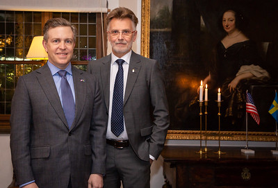 Ken Howery United States ambassador to the Kingdom of Sweden and is co-founder of PayPal and Founders Fund. Anders Danielson governor of Västra Götaland - Sweden