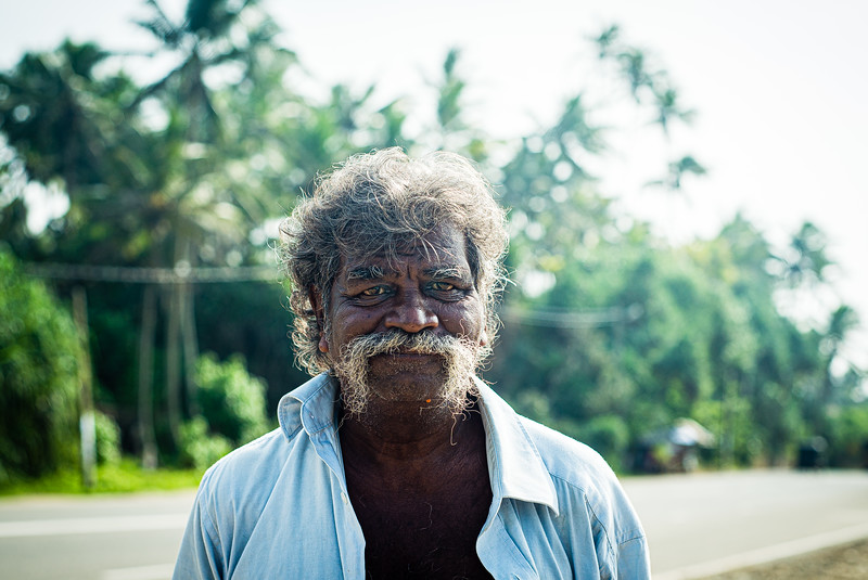 Portrait from Sri Lanka